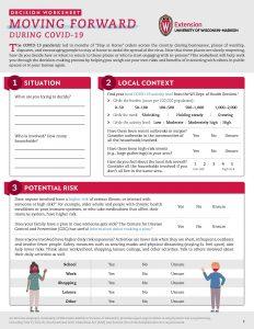 Decision guide worksheet