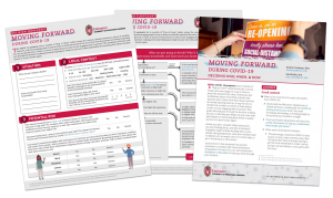 preview of the printable copies of the worksheet, decision guide, and flowchart